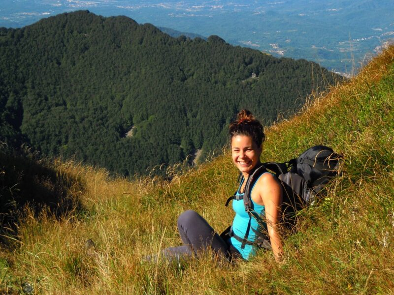 Myself in the Apennines