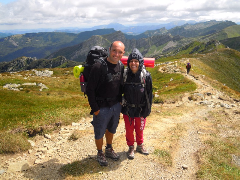 hiking for beginners in the apennines